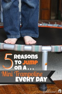 Top 5 Reasons to use a trampoline